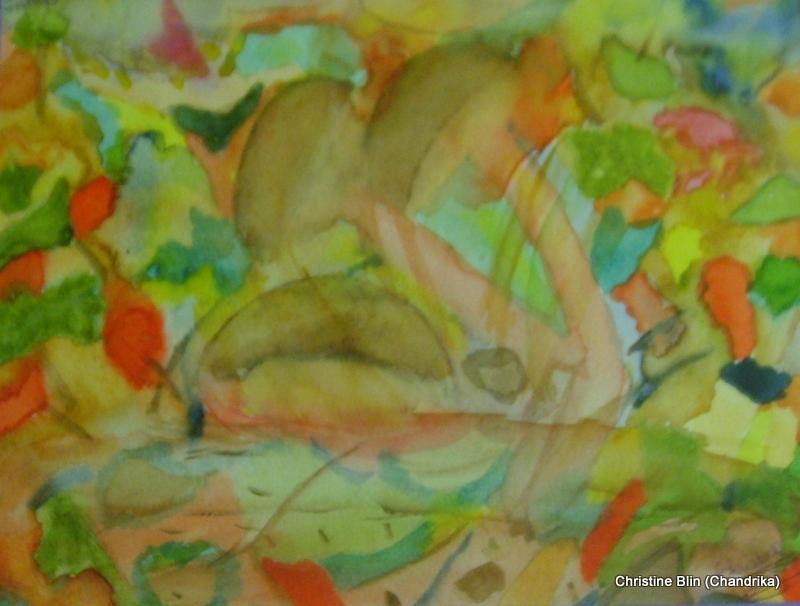 Automne - Aquarelle - 53 x 43 cm