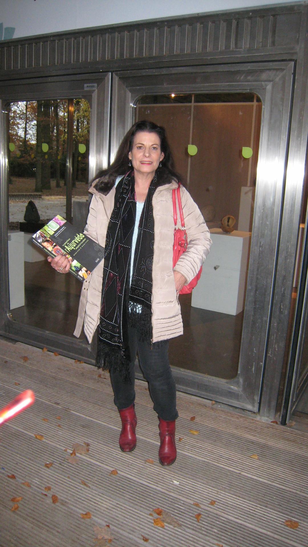 Christine à l espace city zen 19 nov 2016