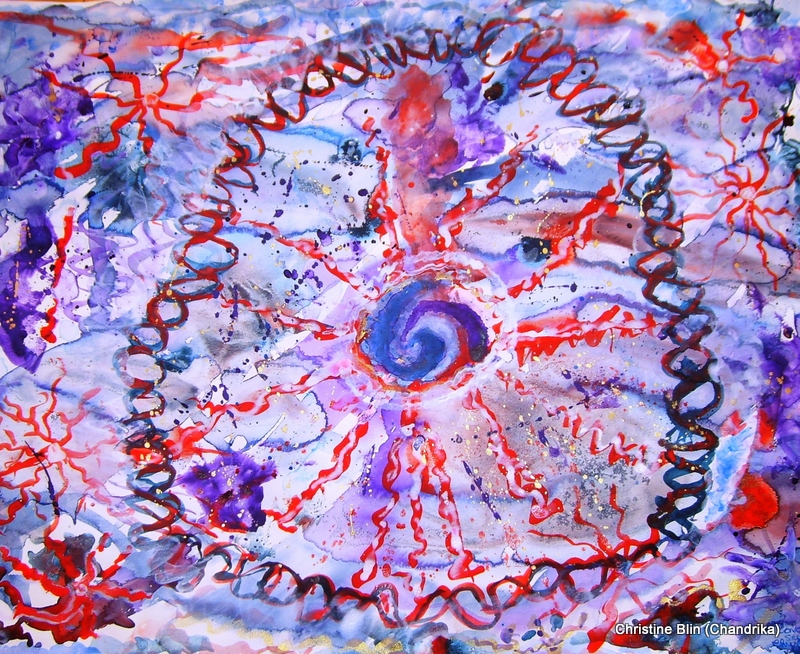 Conception acrylique 76 x 51 cm