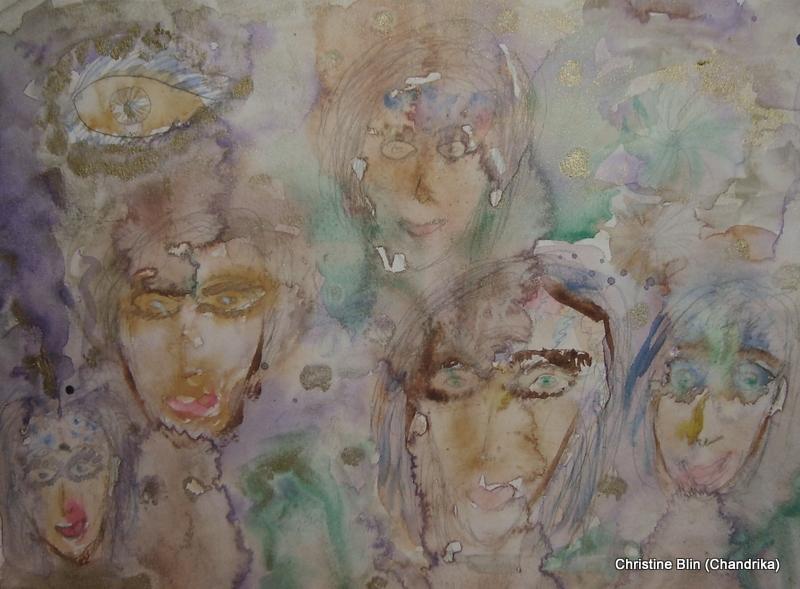 Vision - Aquarelle - 32 x 24 cm